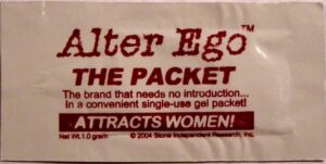 Alter Ego Pheromone Gel Packets for Men